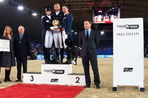 Prize giving ceremony Grand Prix Freestyle
